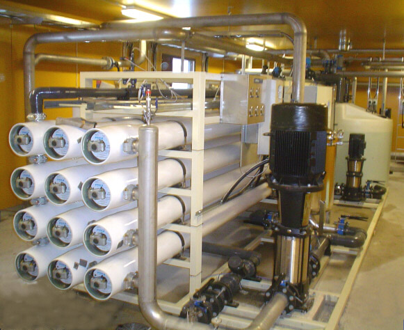 Fluoridinpoisto pohjavedestä käänteisosmoosilla (RO)